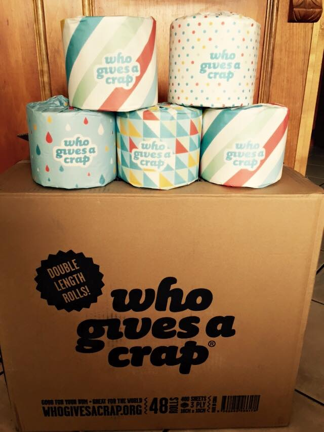 Who Gives a Crap Toilet Paper Review - The Refresh Project